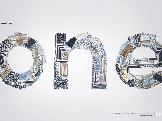 Into1 Print Ad -  One, Work