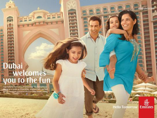 Emirates Print Ad -  Atlantis