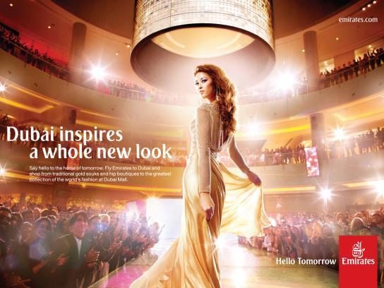 Emirates Print Ad -  Dubai Mall