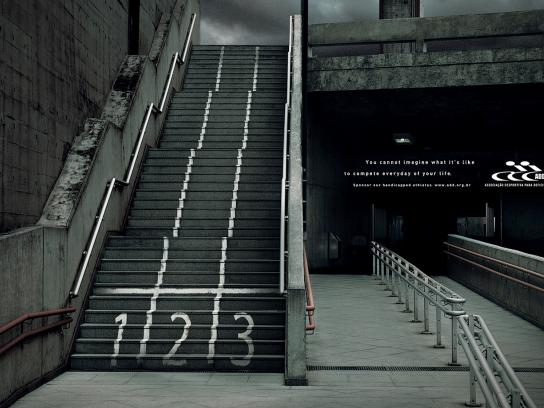 ADD Print Ad -  Stairs, 1