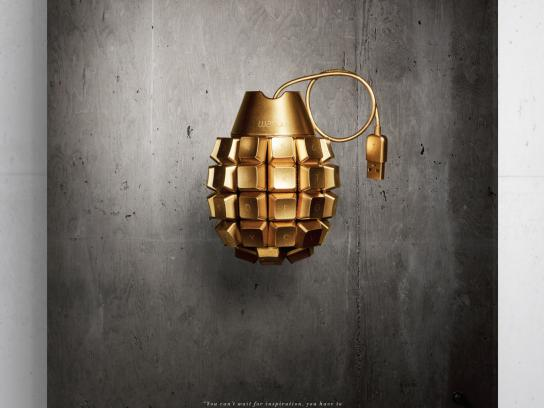 AAF ADDY Awards Outdoor Ad -  Grenade