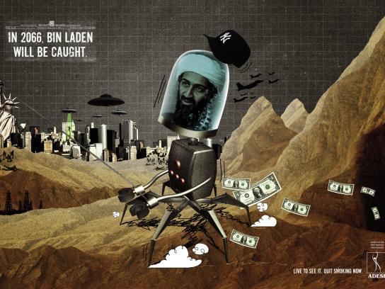 ADESF Print Ad -  Bin Laden