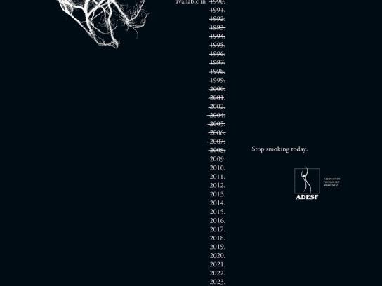 ADESF Print Ad -  Arteries