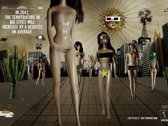 ADESF Print Ad -  Naked