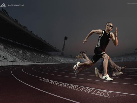 Adidas Print Ad -  Wariner