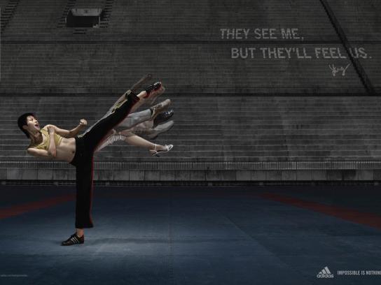 Adidas Print Ad -  Yang