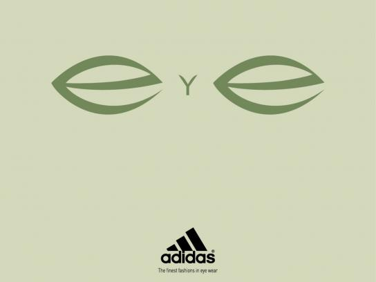 Adidas Print Ad -  The finest fashions in eye wear, 2