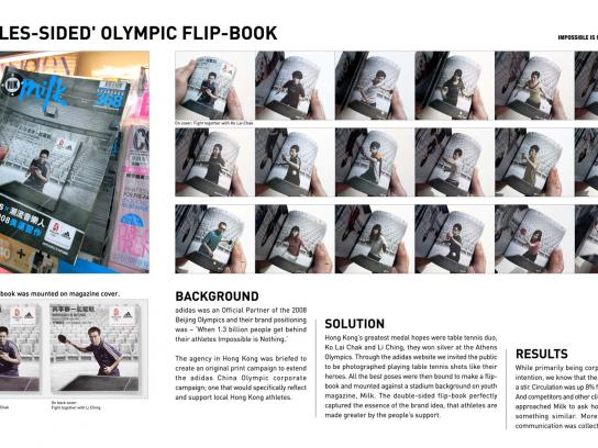 Adidas Ambient Ad -  Flip-book