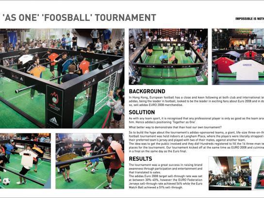 Adidas Ambient Ad -  Foosball
