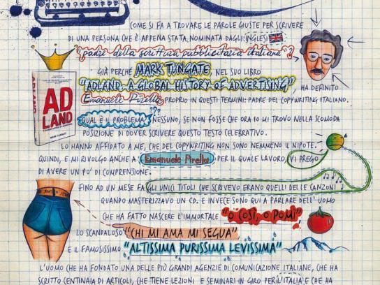 Lowe Print Ad -  Emanuele Pirella