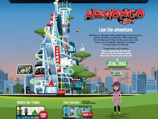 The Bureau of Consumer Protection Digital Ad -  Admongo