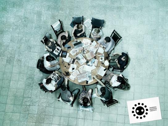 ADOR Print Ad -  The Brainstorming Table