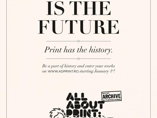 AdPrint Print Ad -  Tweeting