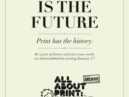 AdPrint Print Ad -  Blogging