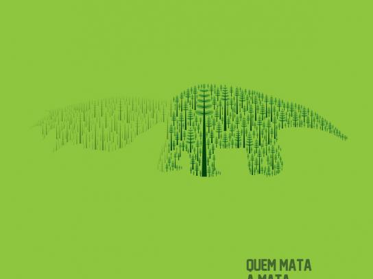 Revista Ecológica Print Ad -  Green