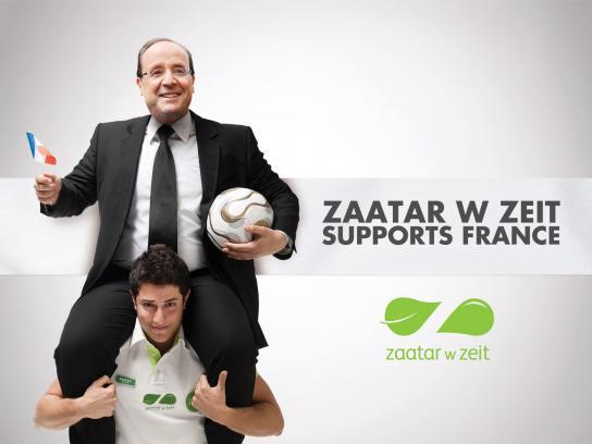Zaatar W Zeit Print Ad -  Football Euro Cup 2012, Hollande