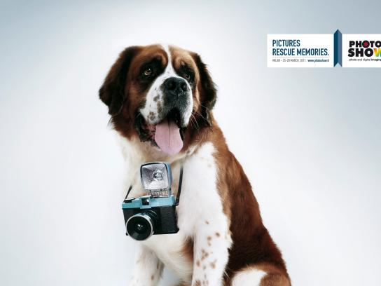 Photoshow Print Ad -  Pictures rescue memories