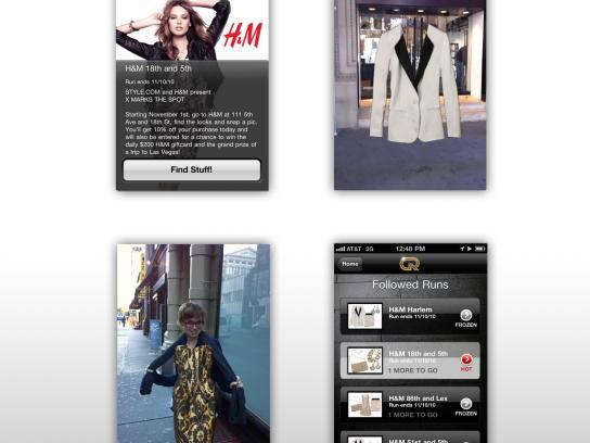 H&M Digital Ad -  Goldrun