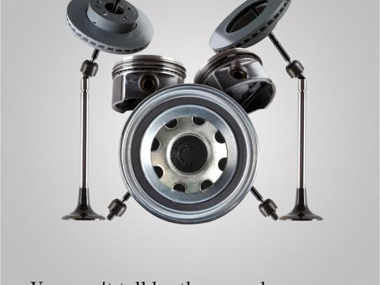 Mercedes Print Ad -  Senses, Sound