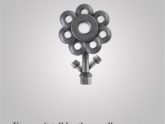 Mercedes Print Ad -  Senses, Smell