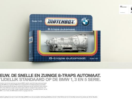 BMW Print Ad -  Matchbox gearbox