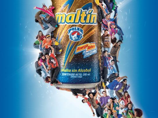 Maltín Polar Print Ad -  Can