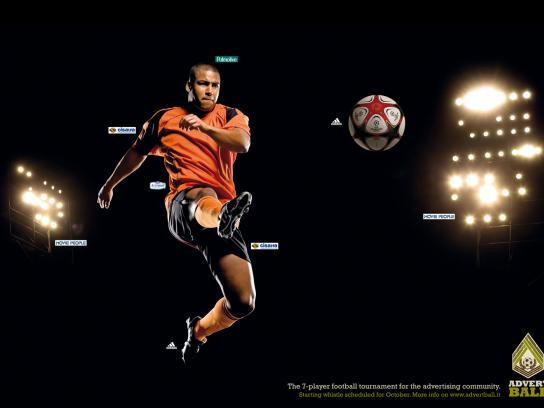 Advertball Print Ad -  Football, 1
