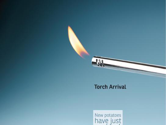 AEPTQ Print Ad -  Amazing potato, Torch Arrival