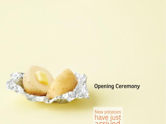 AEPTQ Print Ad -  Amazing potato, Opening Ceremony