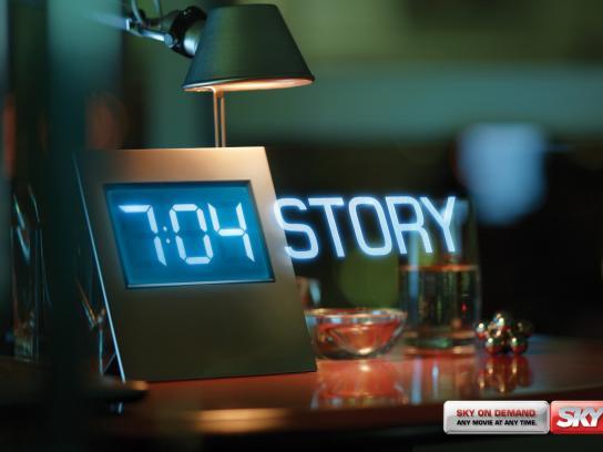 SKY Print Ad -  Any Movie, Any Time, Toy Story