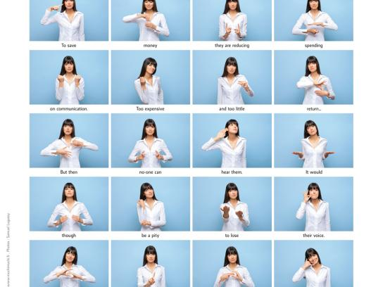 Muchimuchi Direct Ad -  Sign language