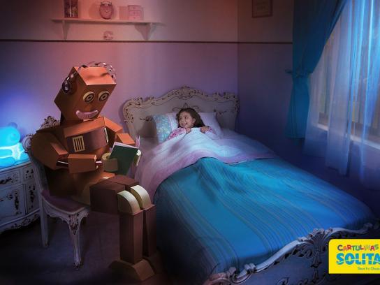 Solita Print Ad -  Robot