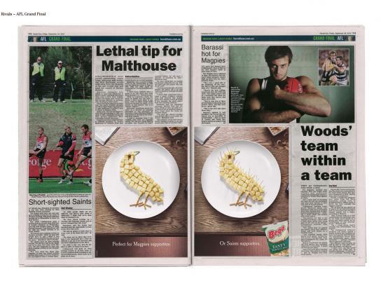 Bega Barbcubes Print Ad -  Rivals, 3