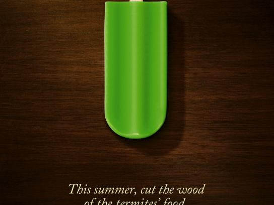 Agroservice Print Ad -  Termites