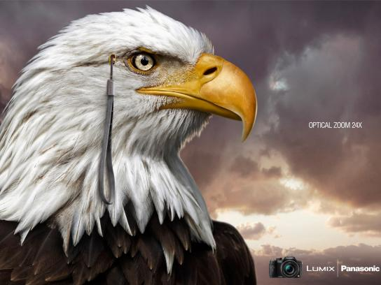 Panasonic Print Ad -  Eagle