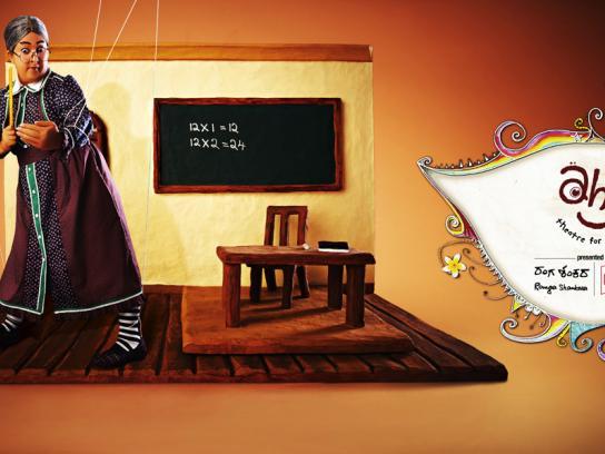 Ranga Shankara Print Ad -  Teacher