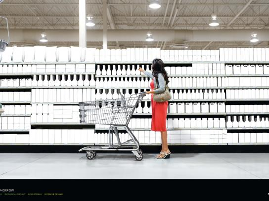 The Art Institutes Print Ad -  Create Tomorrow, Supermarket