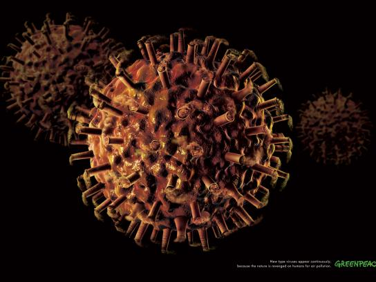 Greenpeace Print Ad -  Air pollution