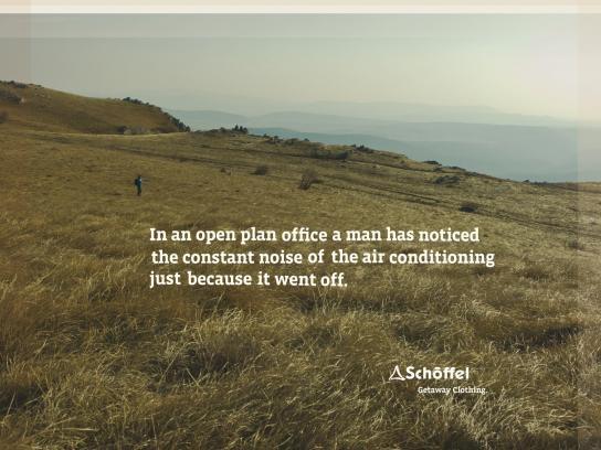 Schoeffel Outdoor Ad -  Campaign With a View, Air Conditioning