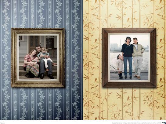 Air France Print Ad -  Double life