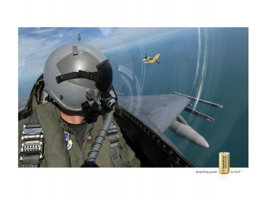 RadioShack Print Ad -  Airplane