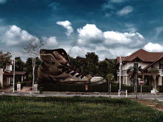 Airwick Print Ad -  Shoe