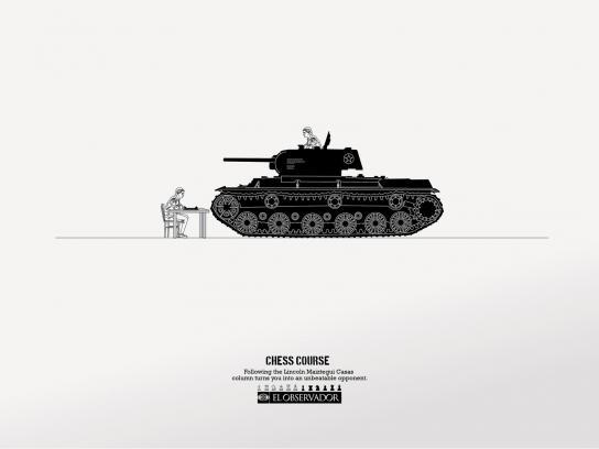 El Observador Print Ad -  Tank