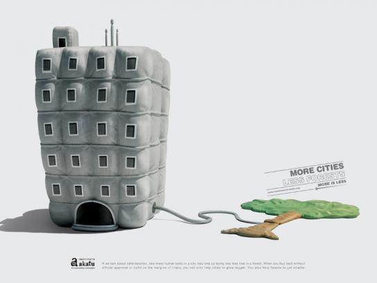 Akatu Institute Print Ad -  Cities