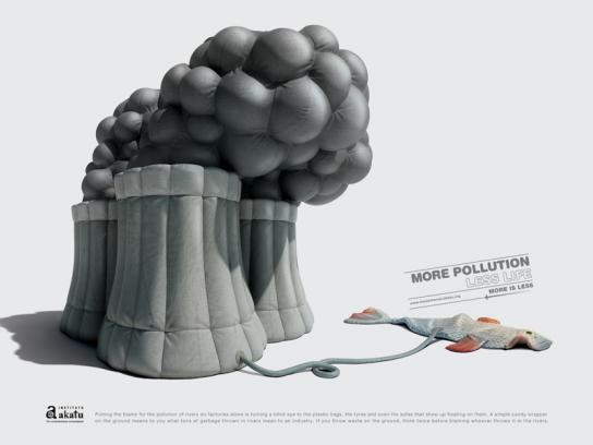 Akatu Institute Print Ad -  Pollution