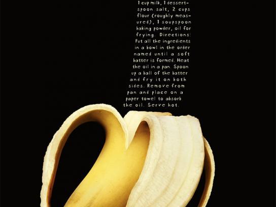 Akatu Institute Print Ad -  Banana peel patties