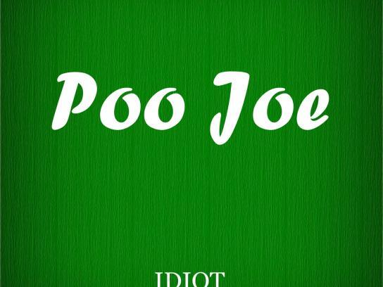 Albert Dali Print Ad -  Poo Joe