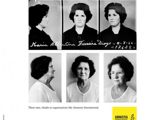 Amnesty International Print Ad -  Albertina
