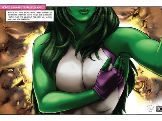 ALCC Print Ad -  Hulk