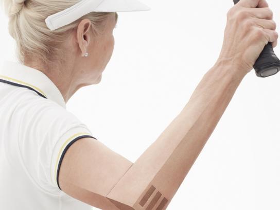 Aleve Print Ad -  Tennis